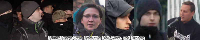 Busorga: Schmidtke, Fank, Gudra und Eichberg