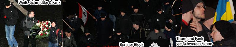 Berliner Nazis in Dresden am 13. Februar 2012