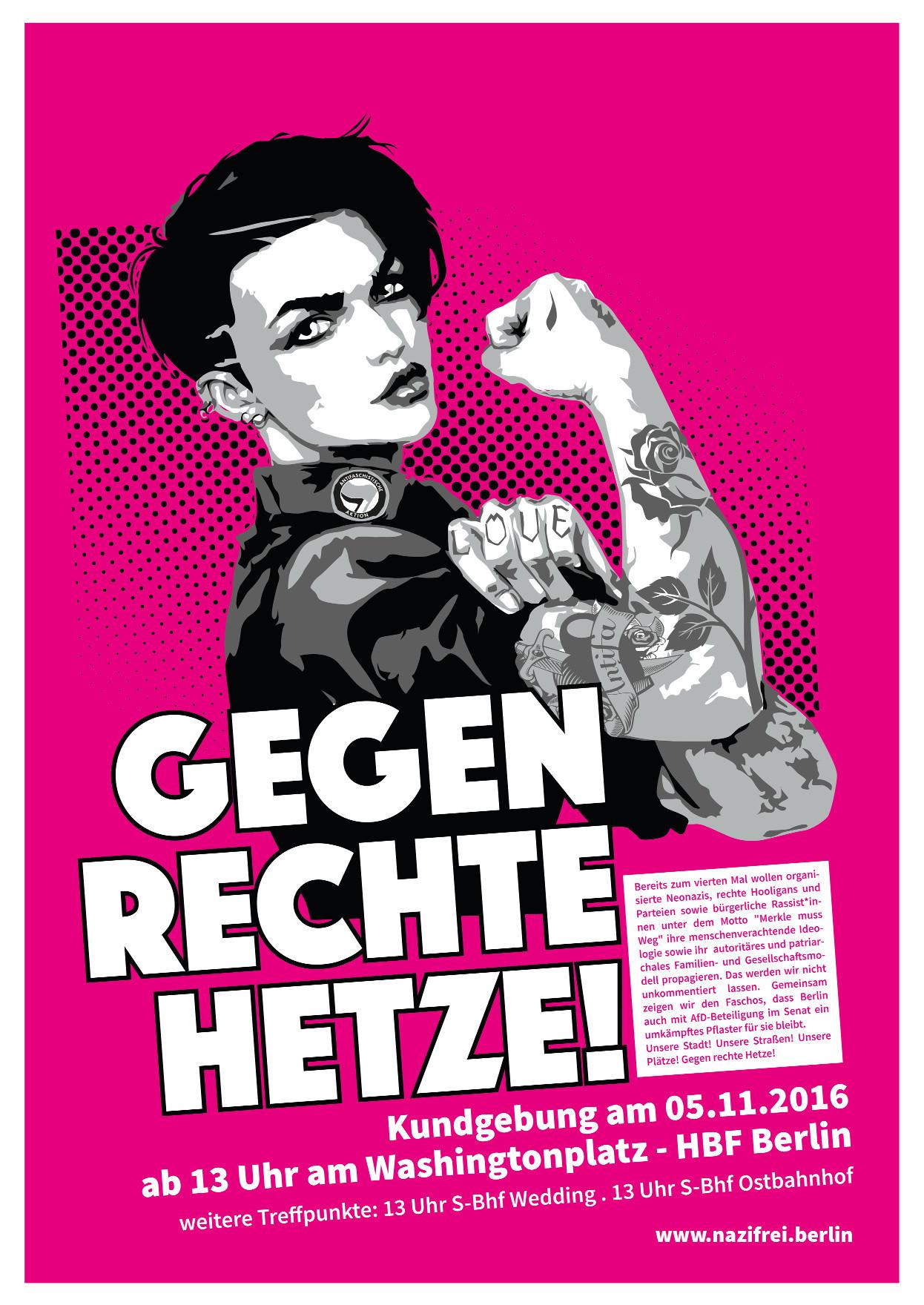 Merkel Muss Weg Antifa Berlininfo